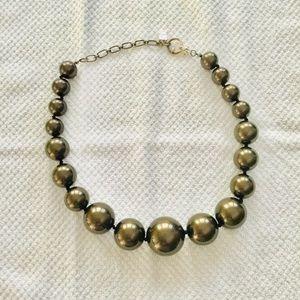 Oscar de la Renta Graduated Ball Necklace